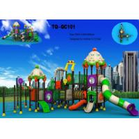 China Automobile Style Large Scale Kids Outdoor Playground Equipment Long Using Life wholesale