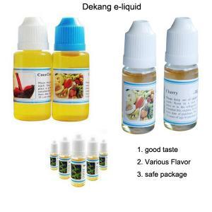 China Original Dekang e cig liquid e juice with childrpoof cap cheap price wholesale