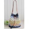 China Straw pattern beach bags women handbag Women Bag in shoulder pouch for female bags wholesale