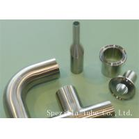 """China 3/4"""" Clamp Welded 45 Elbow ASME BPE 20 RA TP 316/316L Stainless Steel Sanitary Fitting wholesale"""