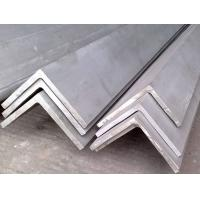 China High Tensile Angle / Steel Stainless Steel Angle Bar 201 , 202 , 304 Grade For Heat Exchange wholesale