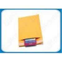 China Yellow / Gold Protective Mailing Bubble Envelopes wholesale