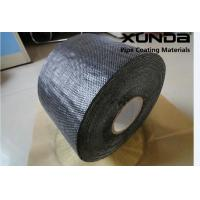 China Woven Polypropylene Tape , Self Adhesive Bitumen Tape 1.27 Mm Thickness 150 Mm Wide wholesale