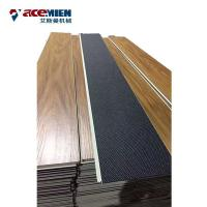 China 300 Kw PVC  Flooring Machine , Step Floor PVC Laminate Flooring Production Line wholesale