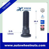 China 10.9 Grade Auto Long Wheel Stud Knurl 12 X 1.5 With Heat Treatment wholesale