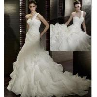 Buy cheap One Shoulder Bridal Gowns from wholesalers