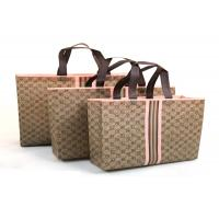China Cotton Polypropylene Reusable Shopping Bags Waterproof Popular Convention Eco wholesale