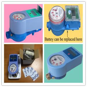 China Multi Jet RF Smart Water Meter , Radio Frequency Card Prepaid Water Meters wholesale