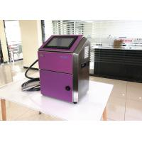 China Waterproof Small Character Inkjet Printer With Diaphragm Pump Ink Supply wholesale