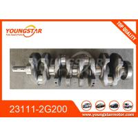 China Hyundai G4KE Sonata High Performance Crankshafts 23111-2G200 231112G200 wholesale