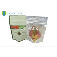 China Stand Up Food Grade poly bags packaging , Small Plastic Zip Bags wholesale