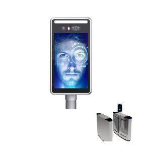 China Turnstiles RS485 IP66 20W Face Recognition Thermometer wholesale