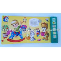 China Voice recordable 6 Button Animal Sounds Book with Multi Sound Panels wholesale