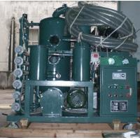 China Vacuum Transformer Oil Dewatering Oil Reclamation Oil Refinery System on sale