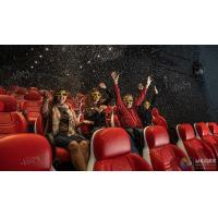 Buy cheap Innovative Electric System 5D Movie Theater Cinema Equipment Black , Red Color from wholesalers