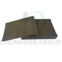 China Brown Skived 6.5mm Etched PTFE Sheet For Stainless Steel on sale