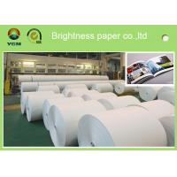 China Uncoated Ticket Printing Paper , Certificate Printing Paper High Density wholesale