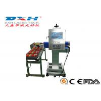 China High Precision Automatic Laser Marking Machine 30W Co2 Laser Marker For Glass Products on sale