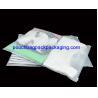 China Slide zipper reusable CPE / PPE bag for wet bikini / underwear wholesale