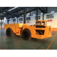 China Yellow Heavy Duty Low Profile Dump Truck For Underground Mining wholesale