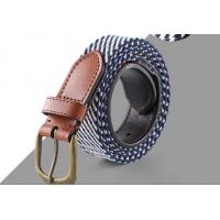 China Super Custom Color Raw Leather Belt , Ladies Leather Belts Fashion Jewelry wholesale