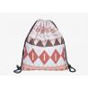 China Cloth Drawstring Bag Backpack , Drawstring Sports Backpack Stock Color wholesale