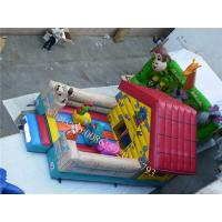 China inflatable bounce-outdoor playground equipment inflatable indoor playground wholesale