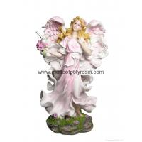 China polyresin standing fairy, resin fairy, fairy statue wholesale