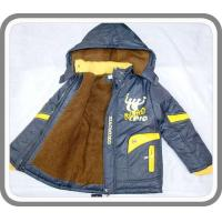 China New Arrival Fancy Boy's Thick Wram Padded Hoodies Jackets with Shihai EXPO Logo Kid's Wear BC0031 wholesale