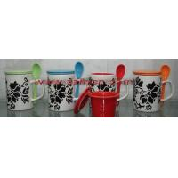Ceramic Mugs/Cups with spoon