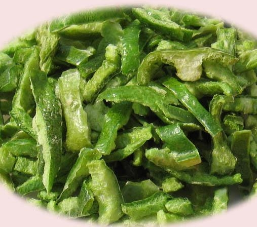 Quality DHDVegetable FD Green Pepper for sale