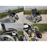China Manual steel and aluminium wheelchair Product name :Aluminium europe manual light weight wheelchair on sale