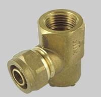 China Compression fittings for pex pipe End fitting on sale