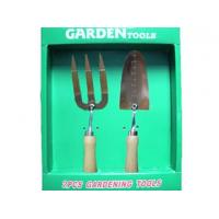 China 2-pieces stainless steel garden tools set wholesale