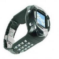 China Fashion Fm Watch Cell Phone -tri Band Watch Cellphone on sale