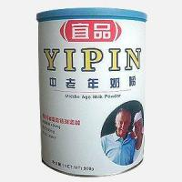 China YIPIN MILK POWDER FOR MIDDLE AGE & ELDERS on sale
