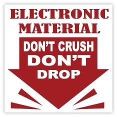 Quality Electrostatic Warning Labels for sale