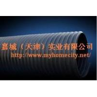 Quality Steel band enhanced polyethylene PE screw corrugated pipe-HCGP107 for sale