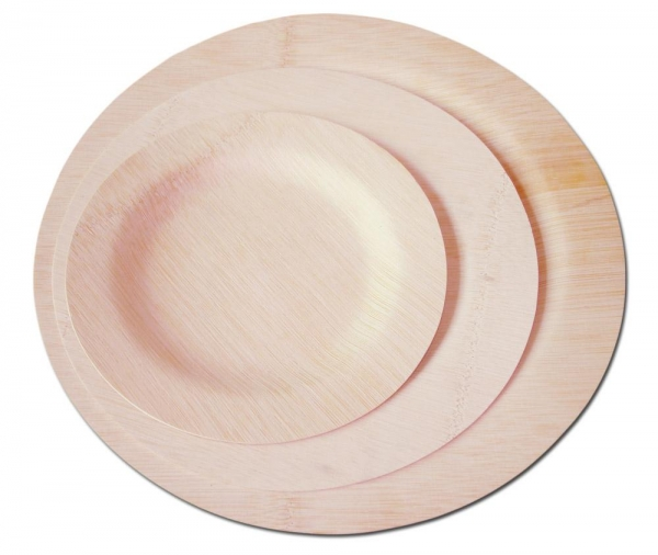Quality bamboo disposable tableware for sale