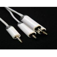 China A/V Cable for iPod/iPhone wholesale