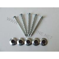 China OTHER HARDWARE ROOFING SCREW NAILS WITH RUBBER&STEEL WASHER wholesale