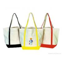 Buy cheap KM07027 Cotton canvas tote bag from wholesalers