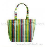 Buy cheap KM07013 striped canvas bag from wholesalers
