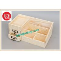 China Wooden Table Organizer With Drawer wholesale