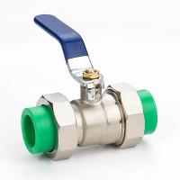 China PPR Double Union Ball Valve on sale