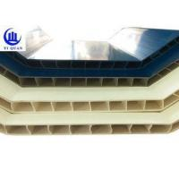 China Durable Corrugated Hollow Twin Wall Roofing Sheets PVC Plastic Tiles wholesale