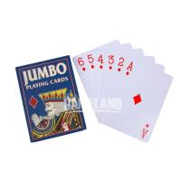 Buy cheap 5x7inches Jumbo Poker Cards Playing Card Printing from wholesalers