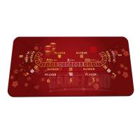 Buy cheap Baccarat Layout Playing Mat from wholesalers