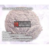China Silicon Carbide Refractory Castable on sale