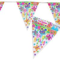 China Spring Butterfly Pennant Birthday Banner wholesale
